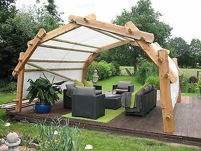 Der Konigsbogen Carport Unterstand Holz Pavillon Bausatz Uberdachung Marktstand Holz Pavillon Uberdachung Garten Garten Unterstand