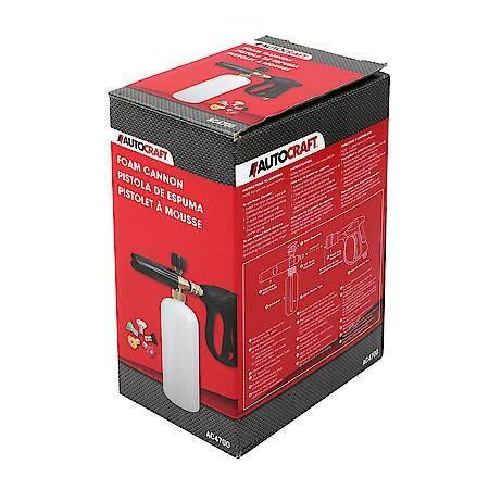 Autocraft Foam Cannon Pressure Washer 5 Nozzle Tips Ac4700 Pressure Washer Mechanic Shop Decor Work Truck