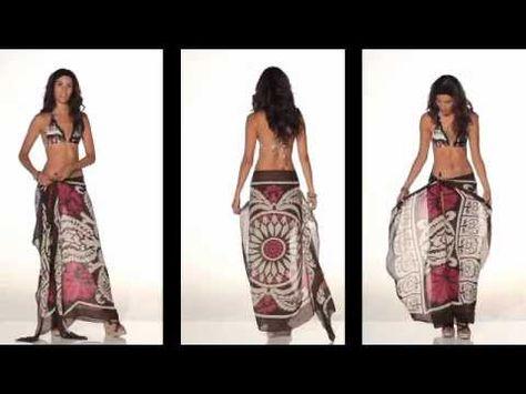 40 ways to tie your sarong, pareo, scarf D.I.Y tiptop magazine