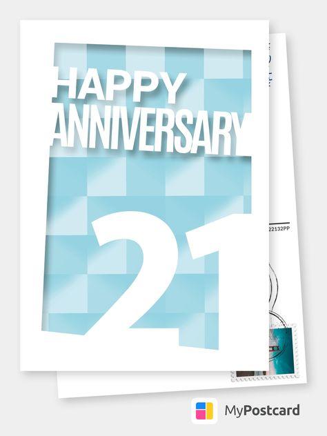 Happy 21 Geburtstagskarten Spruche Echte Postkarten