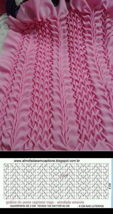 Pin by Brenda Brown on Manipulating fabric | Smocking