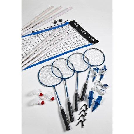 Halex Badminton Set Badminton Set Badminton Cornhole Set