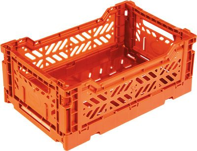 Casier De Rangement Mini Box Surplus Systems Pop Corn Orange Made In Design Casier Rangement Cagette Et Rangement Plastique
