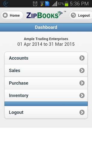 This app is only for registered users of ZipBooks To register - blanket purchase agreement