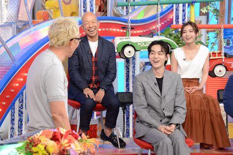 『1億人の大質問!?笑ってコラえて!』所ジョージ、菅田将暉(1) (c)NTV - music.jpニュース