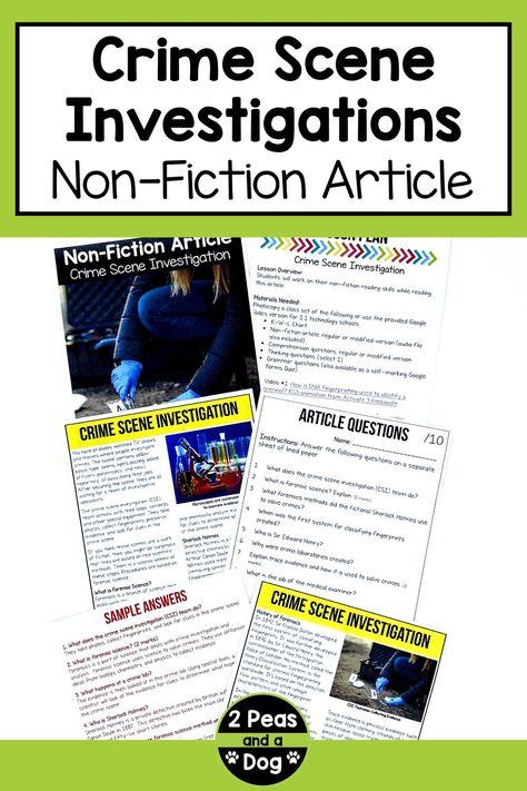 Middle School Non-Fiction Text
