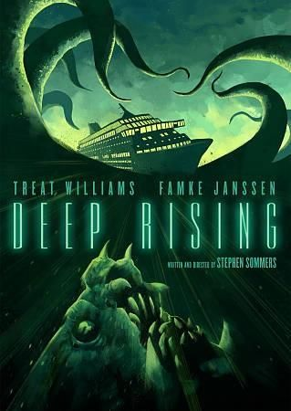 Deep Rising 20th Anniversary Special Edition Dvd 1998 Ws 2 35 Eng Sub Trivoshop In 2021 Movie Monsters Poster Creature Feature