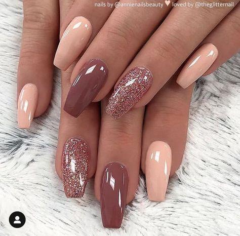 stylish gorgeous glam natural nail art design tutorial polish manicure