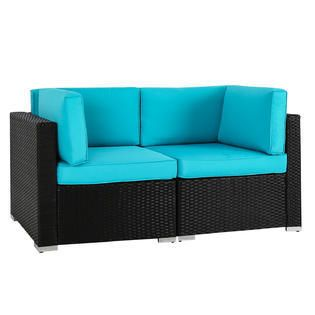 Patio Furniture & Accessories Kinsunny Wicker Patio ...