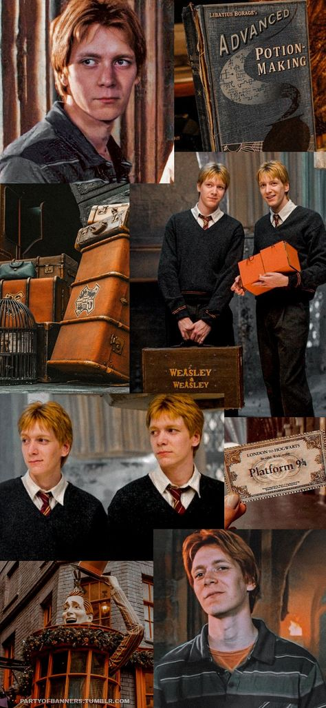 Weasley twins aesthetic Lockscreens