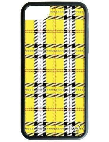 Yellow Plaid iPhone 6/7/8 Case