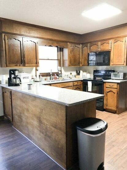 Diy Kitchen Cabinet Makeover Idea On A Budget In 2020 Cheap