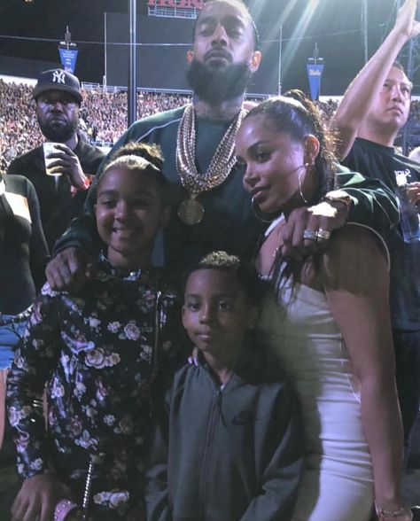 """19.3k Likes, 171 Comments - Nipsey Hussle (RIP) (@rememberingnipsey) on Instagram: """"Big Nip and Little Nip. Big Boog and Little Boog. I'm so glad that Emani and Kameron have these…"""""""