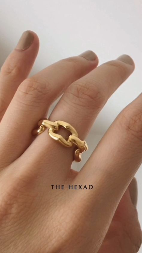 REVEL Ring - the new statement ✨shop this ring at www.thehexad.com