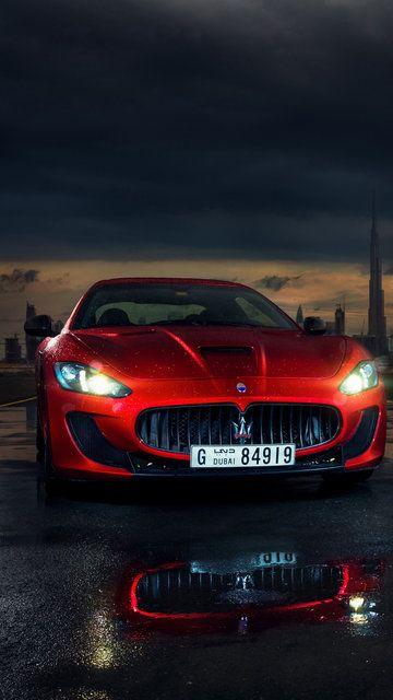 Hot Red Maserati Wallpaper Maserati Car Maserati Granturismo Maserati