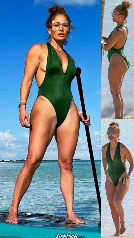 Jennifer Lopez Bikini 2021