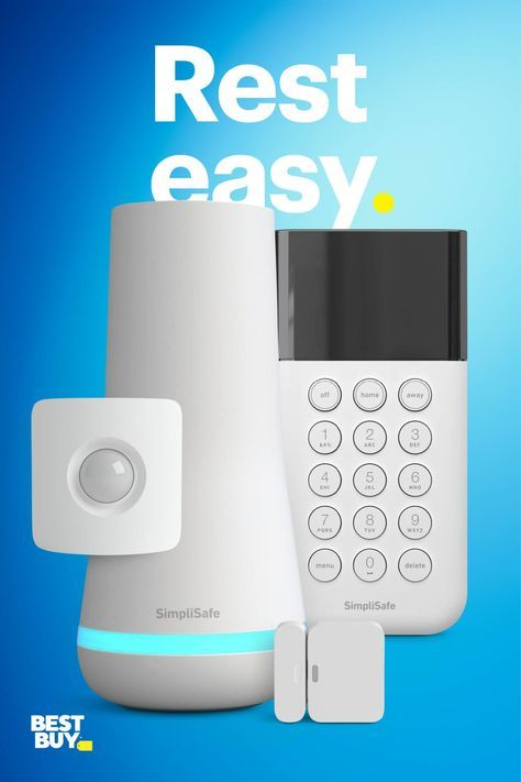 Want More Security A Simplisafe System Helps Protect Your Home Entry Sensors And A Motion Sensor Let You Know If Cool Things To Buy Simplisafe Home Security