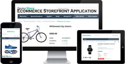 Ecommerce Storefront Application E Commerce Shops Ecommerce Store Fronts Commerce
