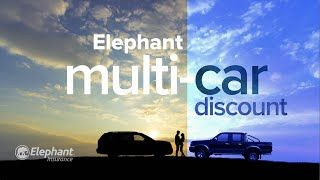 Multi Car Discount Elephant Insurance In 2020 Elephant