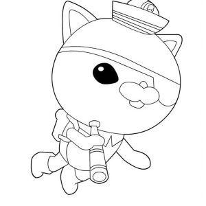 Coloring Page Kwazii From The Octonauts Exploring The Sea Coloring Seashell Drawing Online Coloring Pages Coloring Pages