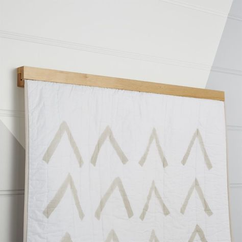 Finish The Look Of Your Kids Room Playroom Or Nursery With Decorative Accents From Crate Barrel Wooden Quilt Hanger