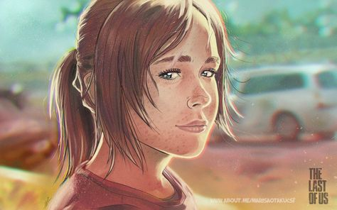 Ellie From The Last Of Us Fanart By Marisaotakucsi On