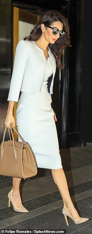 Amazing: She has become something of a style icon, especially since her memorable outfit a...