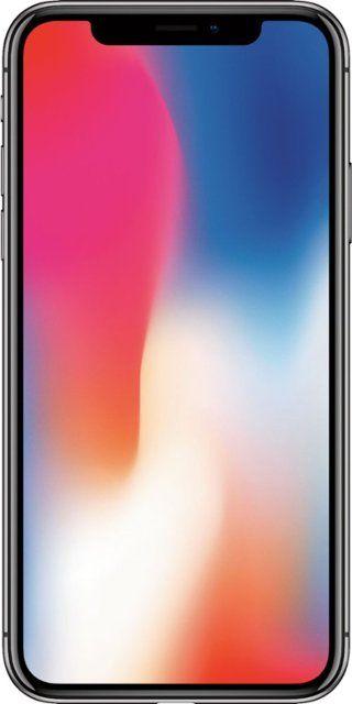 Apple Iphone X 64gb Space Gray At T Mqa52ll A Best Buy Apple Iphone Iphone Buy Iphone