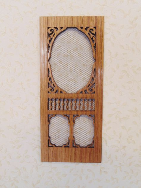 Window 2117 wooden dollhouse miniature 1:12 scale USA made Gothic Arch