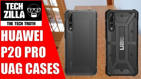 new arrival a67af ee5e0 Huawei P20 Pro UAG Plasma & Plyo Case Review | Phone Reviews | Phone ...