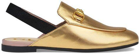 0061eede0 Gucci Kids Children s Princetown leather slipper