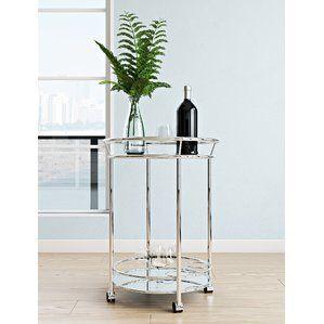 Reduce Rickey Bar Cart By Wade Logan Gold Bar Cart Decor Bar Cart Decor