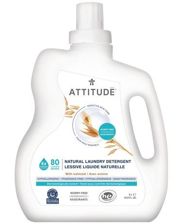 Attitude Sensitive Skin Laundry Detergent Nea 80 Loads