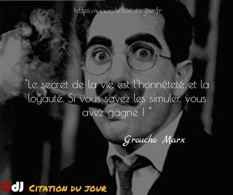 Résultat De Recherche D Images Pour Groucho Marx Citations