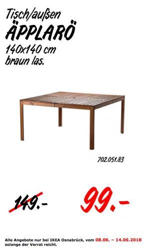 Ikea Applaro Tisch Fur Aussen Ikea Applaro Ikea Haus Und Garten