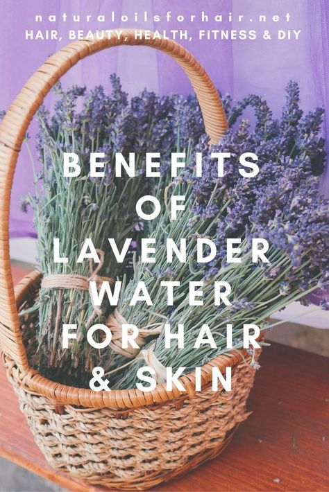 Lavender Water For Hair Lavender Benefits Lavender Water
