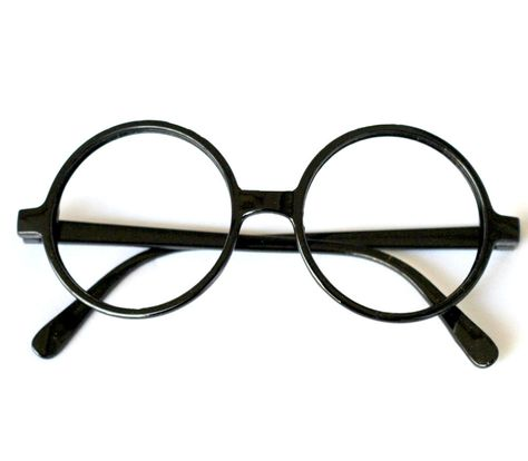 94162234d3 Harry Potter Glasses Frame Nerd Bookworm Dress Up Halloween Round Eye No  lens