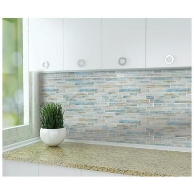 Tesoro Tasbarkbayml Tesoro 11 75x11 75 Bay Multilinear Mosaic Back Mesh Mount 1 04 Pc Per Sf Tasbarkbayml Glass Tile Mosaic Tile Designs Glass Mosaic Tiles