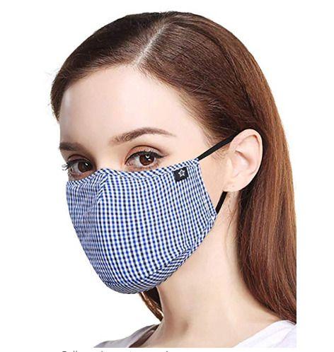 maschera cotone antipolvere