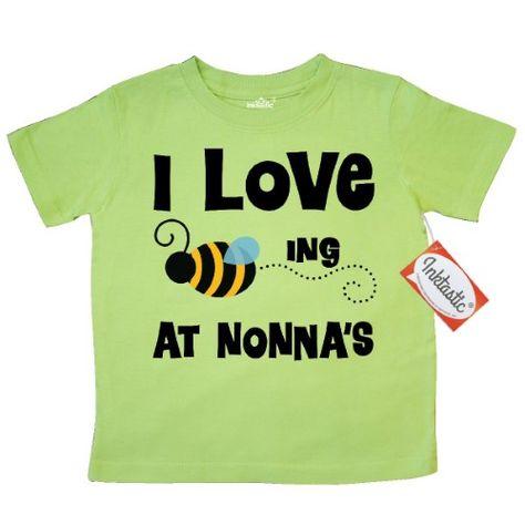 7194d50d Inktastic Nonna's House Bee Toddler T-Shirt Nonna Gift From Grandchild  Grandkids Nonna's I Love