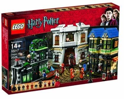 Lego Harry Potter Diagon Alley 10217 Discontinued By Manufacturer Toys Games Harry Potter Diagon Alley Lego Harry Potter Harry Potter Set