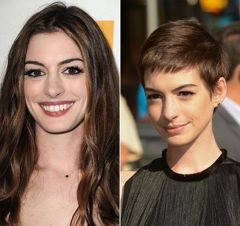 Dream haircut, Anne. I don't know how much longer I can stand to grow my hair out when I all I want is to cut it.