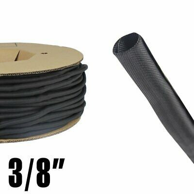 Ad Ebay 3 8 Split Braided Wire Loom Self Wrapping Cable Sleeving Wiring Wrap Tube Lot Cable Organizer Cord Protector Cable Wire