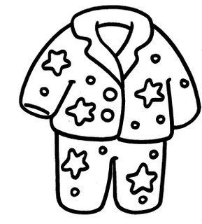 Pijama Free Coloring Pages Sketch Coloring Page Dia Do Pijama