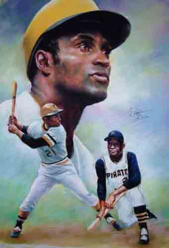 Roberto Clemente Walker Was A Puerto Rican Baseball Right Fielder Who Played 18 Seasons In Major League Baseba Roberto Clemente Baseball Catcher Baseball Humor