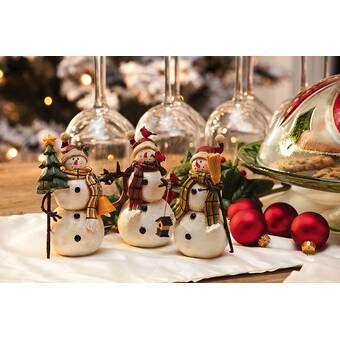 13 Lighted Christmas Decor Figurine Decorating With Christmas Lights Christmas Figurines Decor Figurines