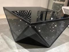 Black Mirror Crush Exclusive Mirrored Coffee Table Mirrored Coffee Tables Home Coffee Tables Coffee And End Tables