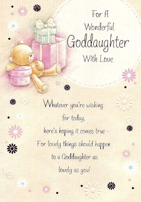 Happy Birthday God Daughter Quotes And Images Yahoo Search Results