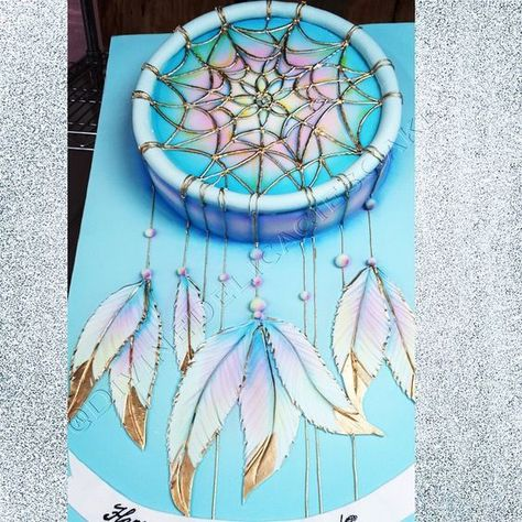 Dream catcher cake, did this one for bday.