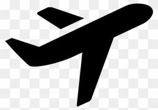 Air Travel Airplane Clipart Black And White Icon Png Download Clipart Black And White Airplane Icon Clip Art